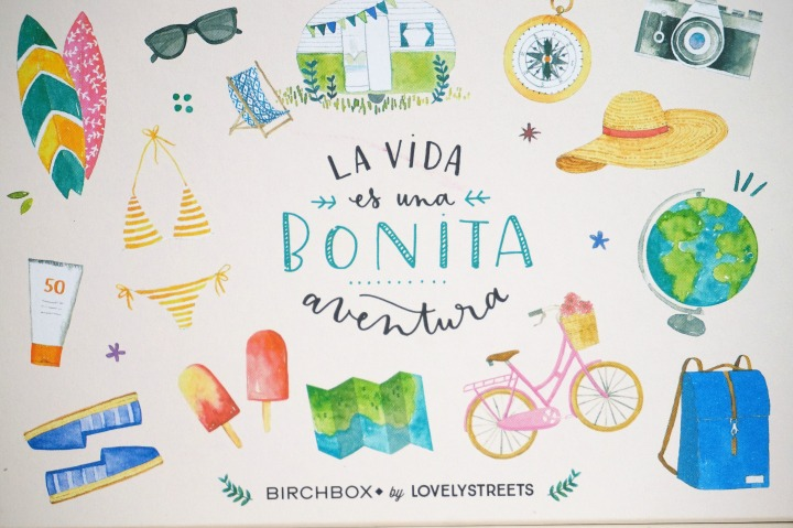 Unboxing BirchBox Junio 2016