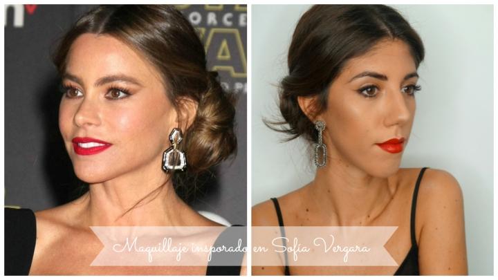Jueves de Inspiración – Maquillaje inspirado en SofíaVergara