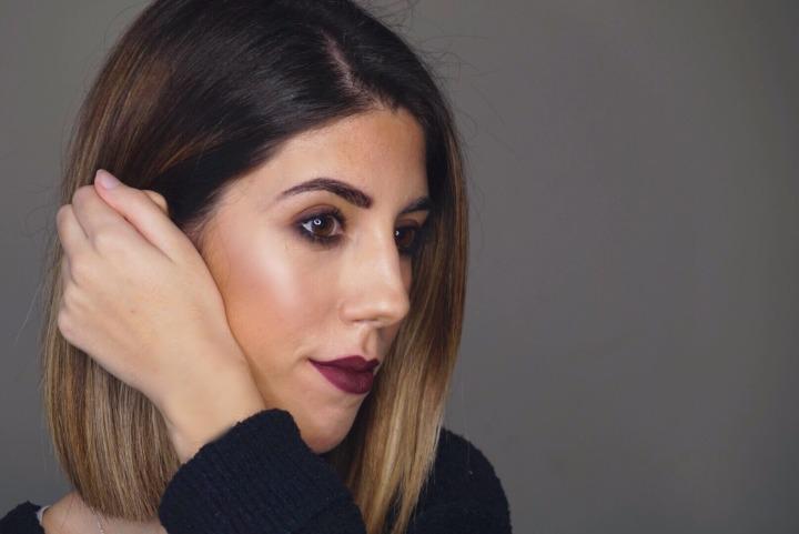 Maquillaje isnpirado en Dafne Fernandez Goya2018